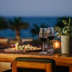 Alion Beach Hotel Amethystos Cocktail Bar Terrace